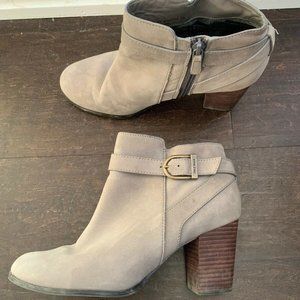 Cole Haan Gray Ankle Boots Women's 8B